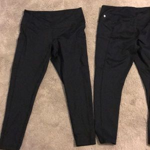 Z by Zella cropped leggings with pockets large